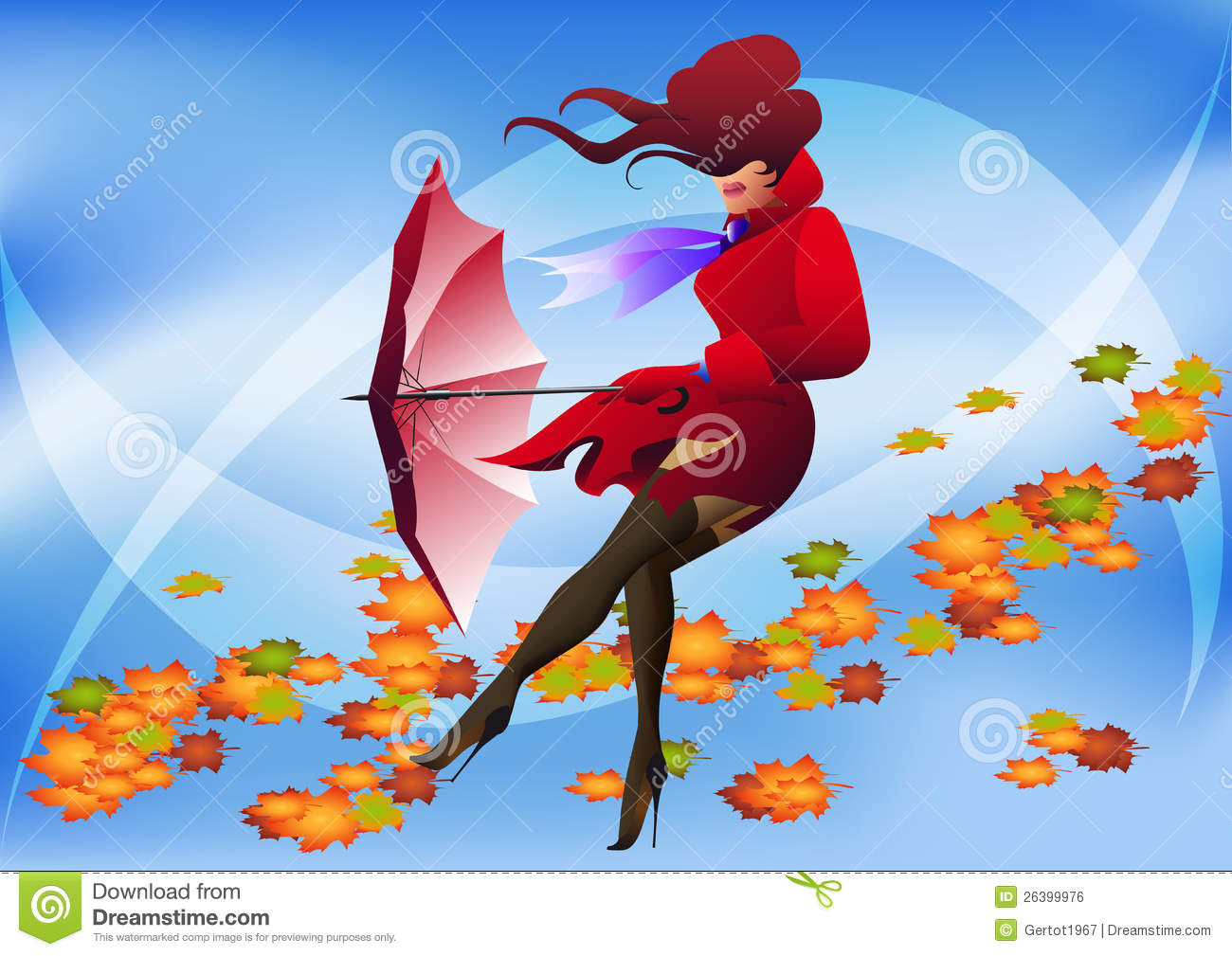 Windy Day Royalty Free Stock Image - Image: 26399976
