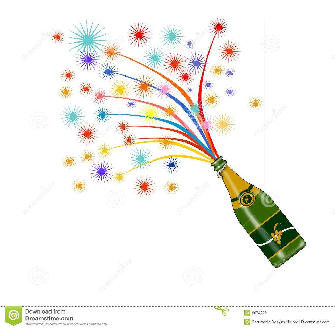 wine bottle with fireworks royalty free stock photo free fireworks border clip art free fireworks pictures clip art
