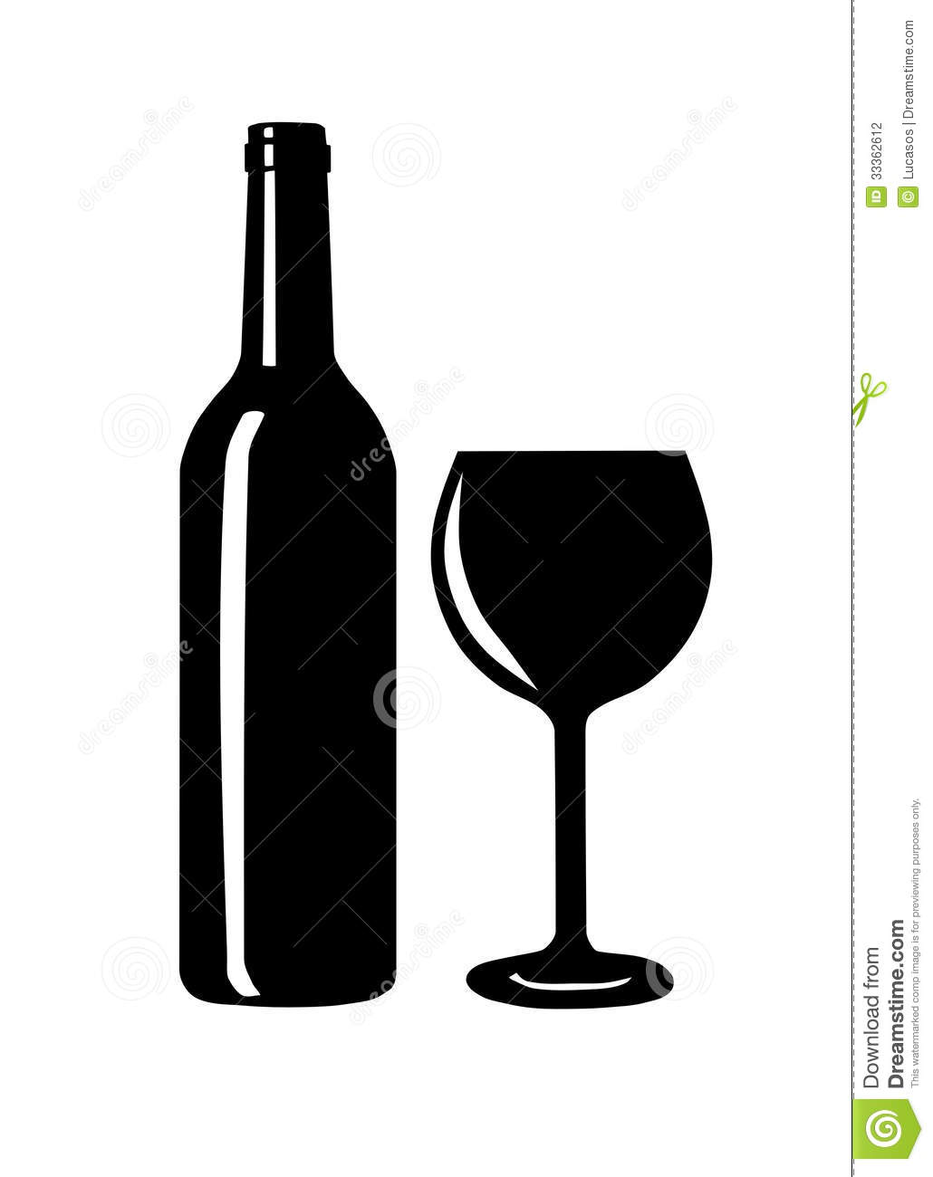 wine bottle and glass silhouette stock vector illustration of rh dreamstime com wine bottle vector free download wine bottle vector sketch