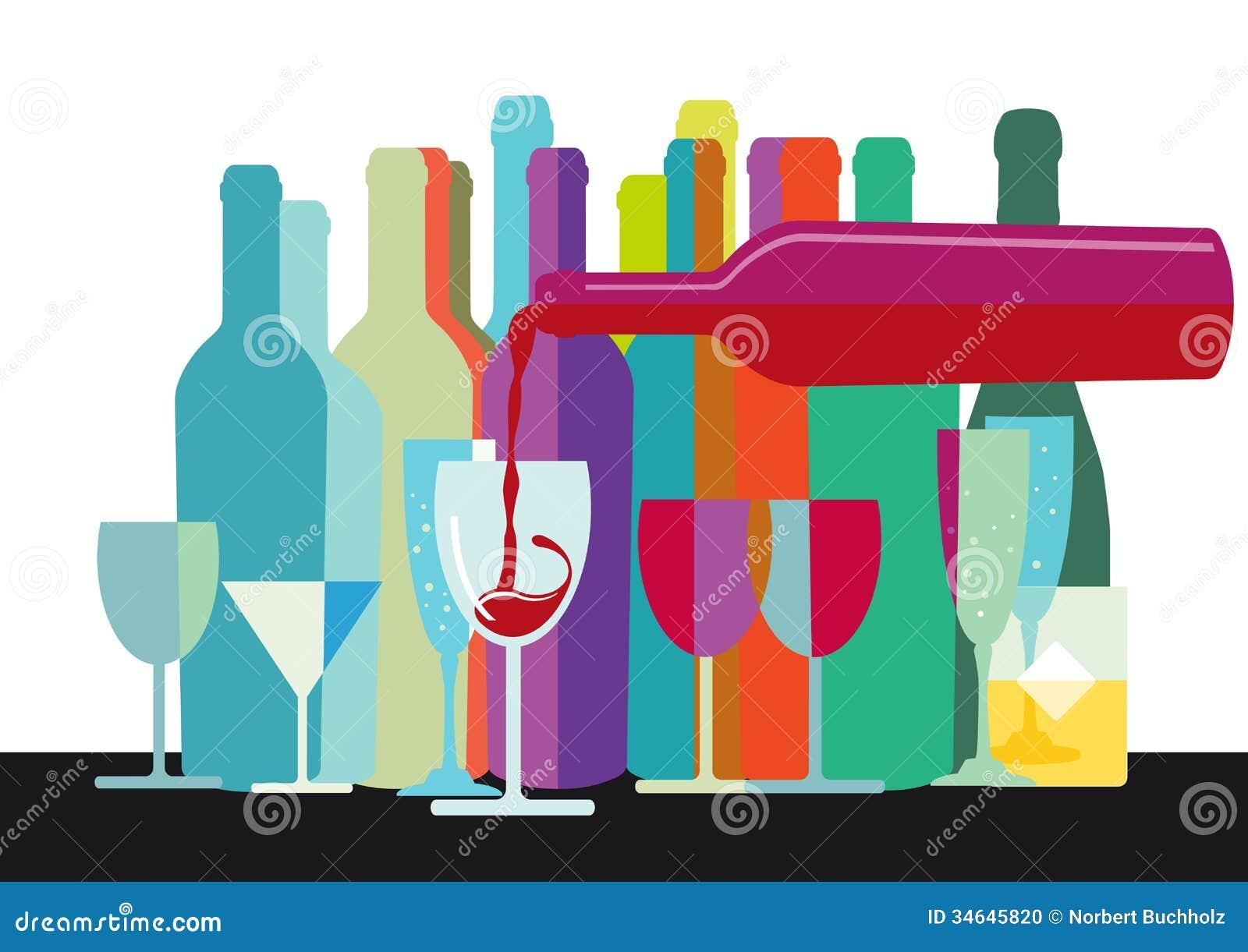 25 brilliant wine label, bottle & package designs ... |Wine Bottle Graphic Design