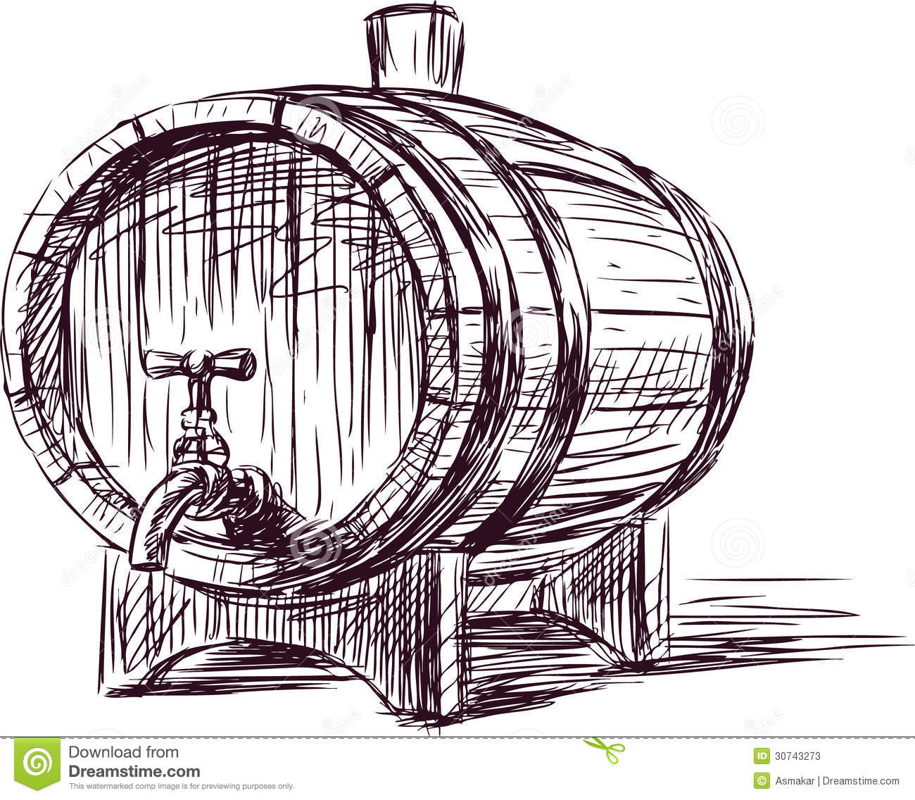 Wine cask stock photos image 30743273 - Barriles de vino ...