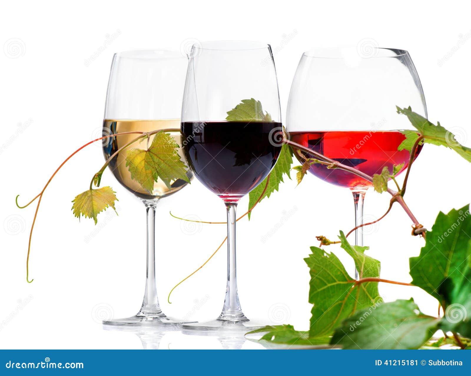Wine för exponeringsglas tre