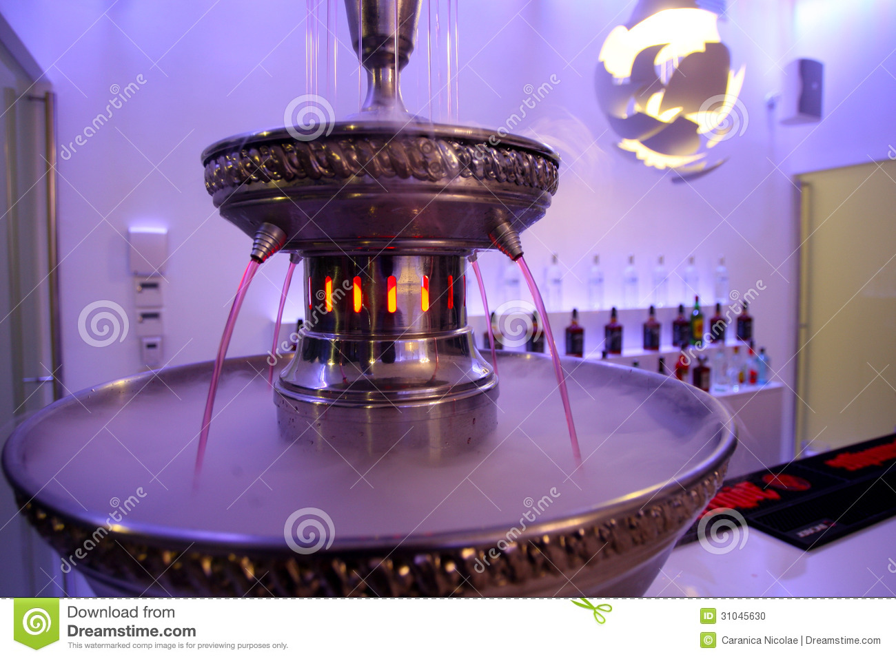Wine fountain stock photo image of guest ballroom for Fontaine zen gifi