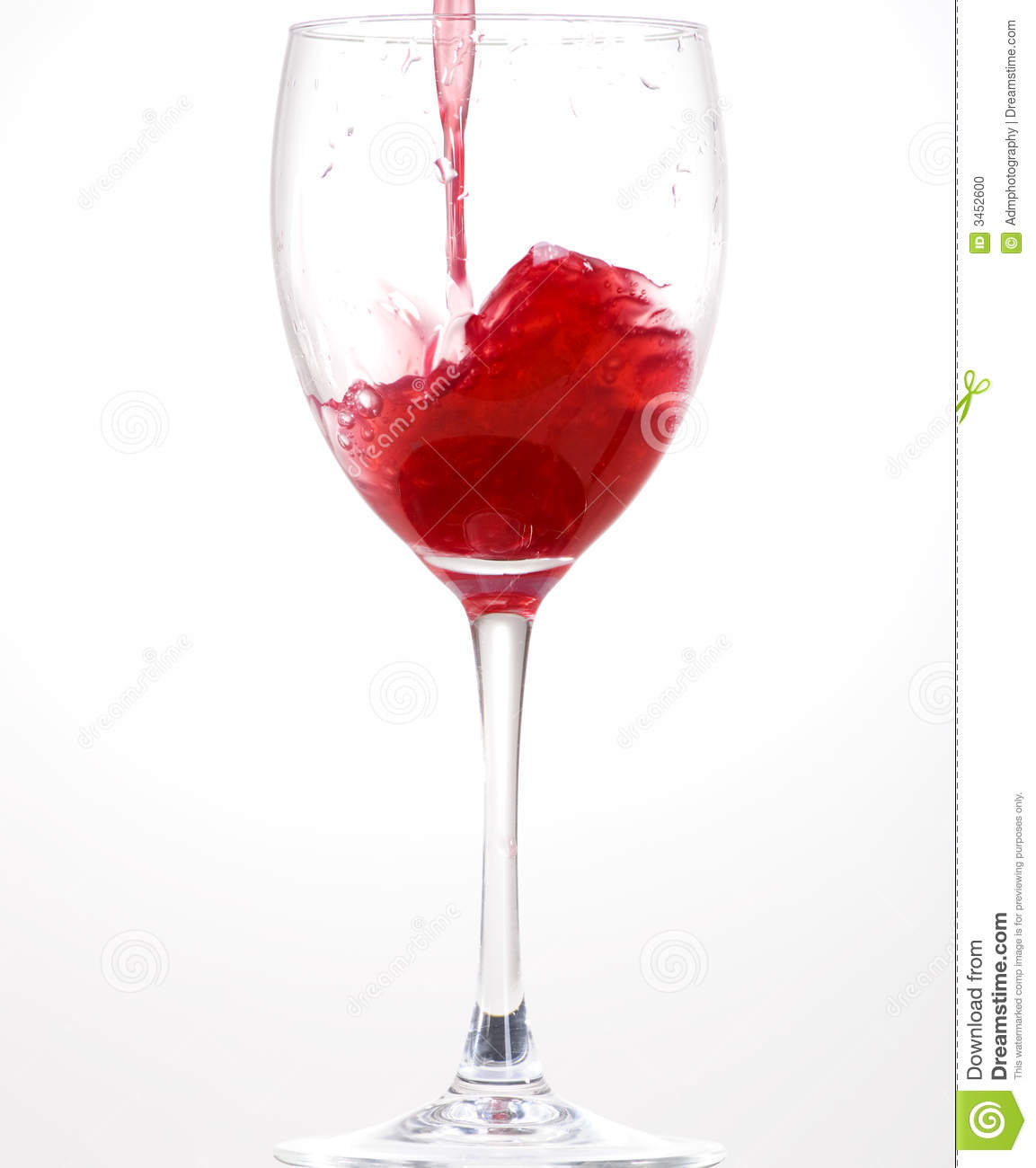 Wine Glass 1 Stock Photo Image 3452600