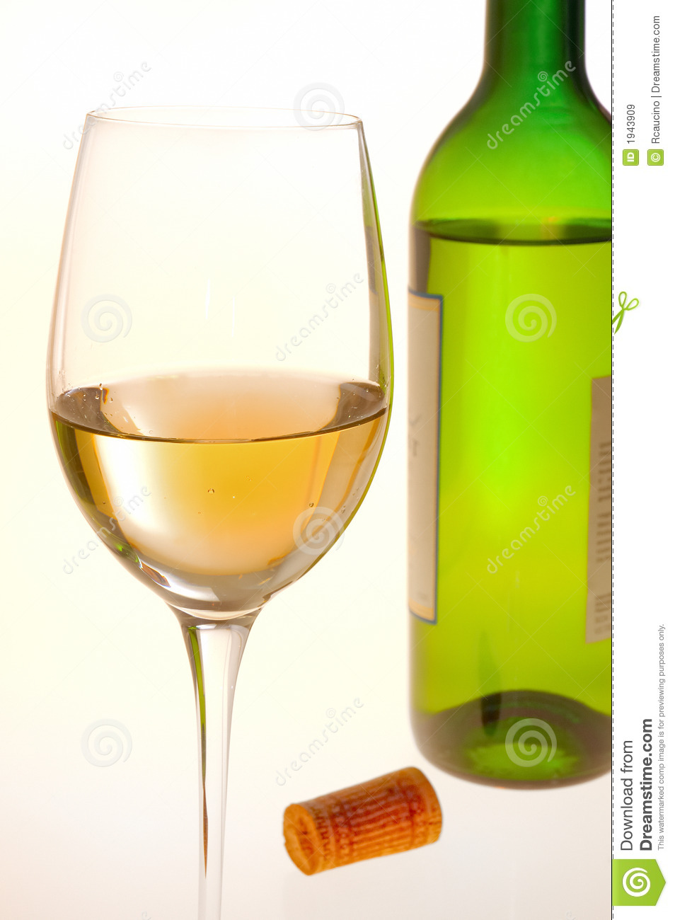 Wine glass bottle royalty free stock images image 1943909 for Wine bottle glass