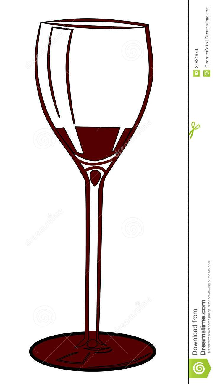 Wine Glass Stock Images - Image: 32831974