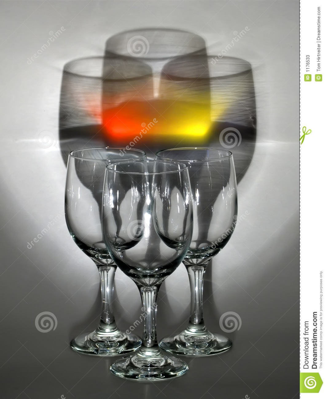 Wine Glasses Stock Photos Image 1176533