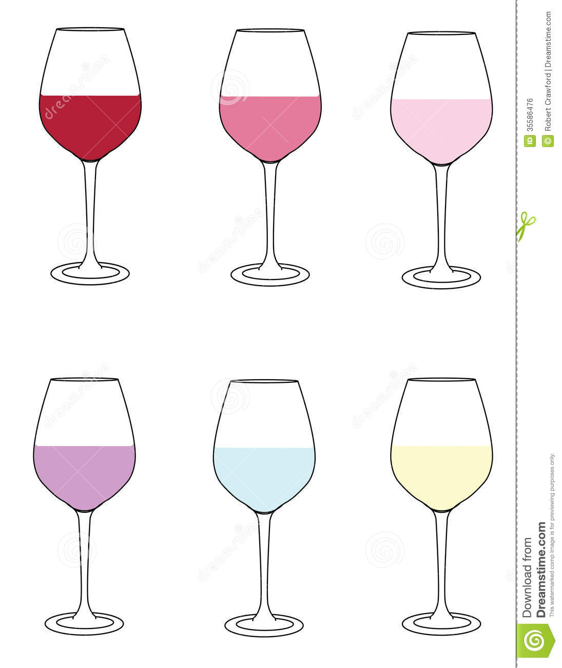 how to hold different glasses