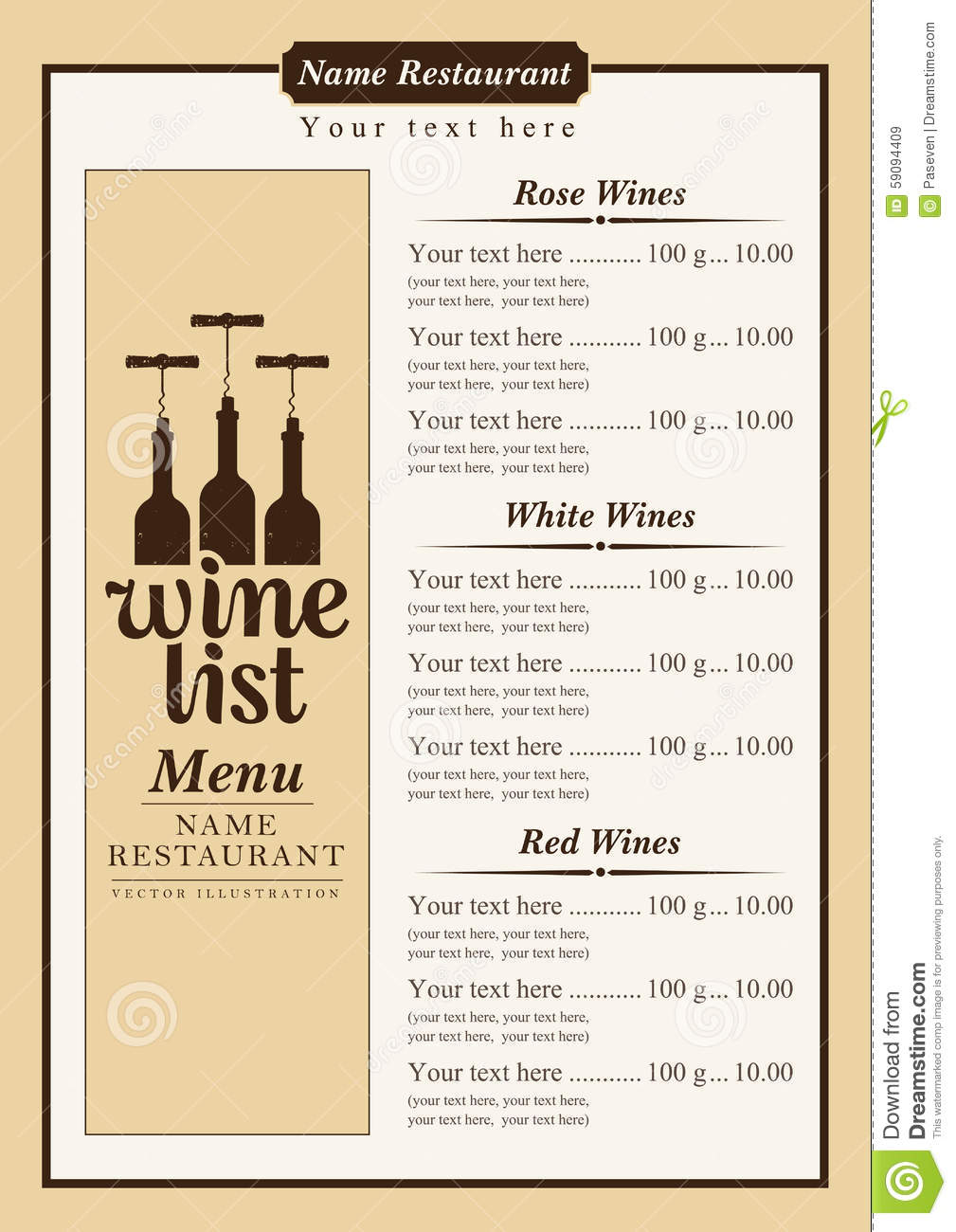 Warwick Wine Estate Restaurant Menu