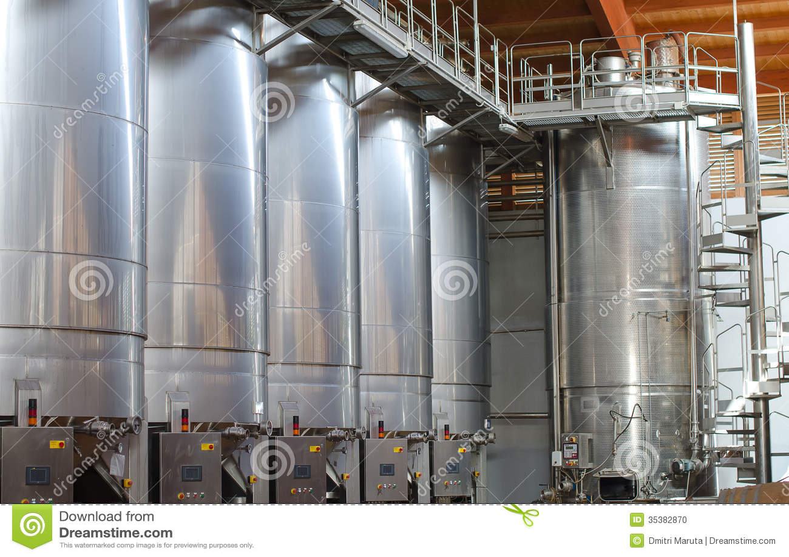 Wine manufacturing.