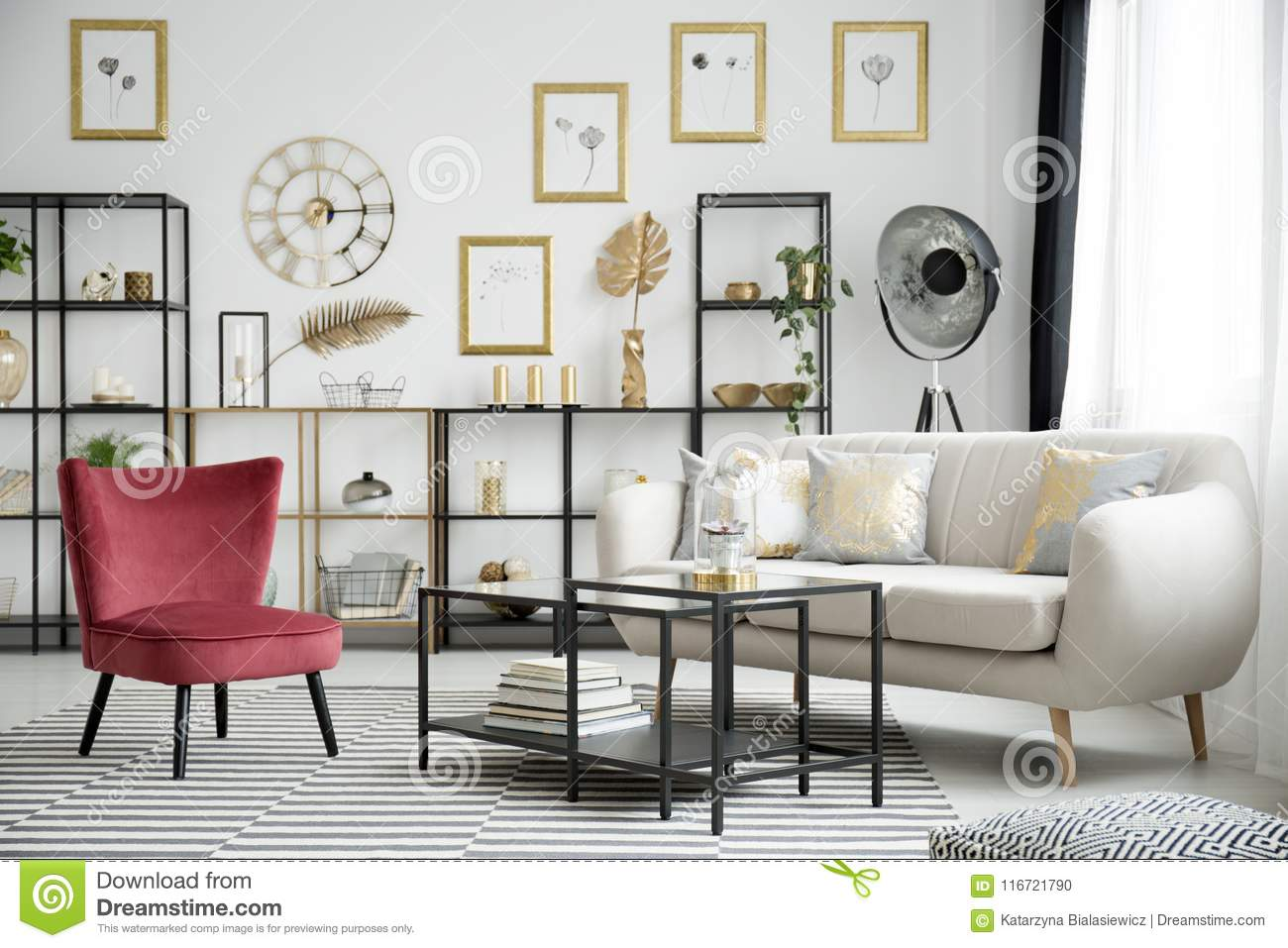 Miraculous Wine Red Armchair And Sofa Stock Photo Image Of Couch Inzonedesignstudio Interior Chair Design Inzonedesignstudiocom