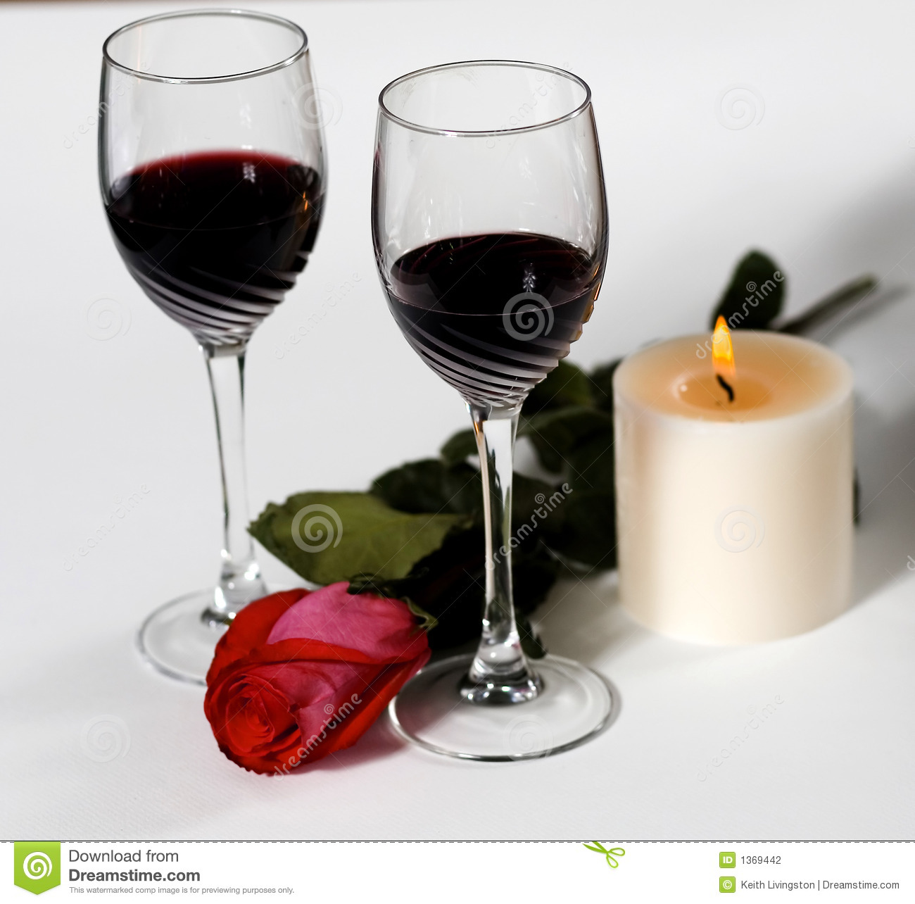 Wine And Roses Stock Photography Image 1369442