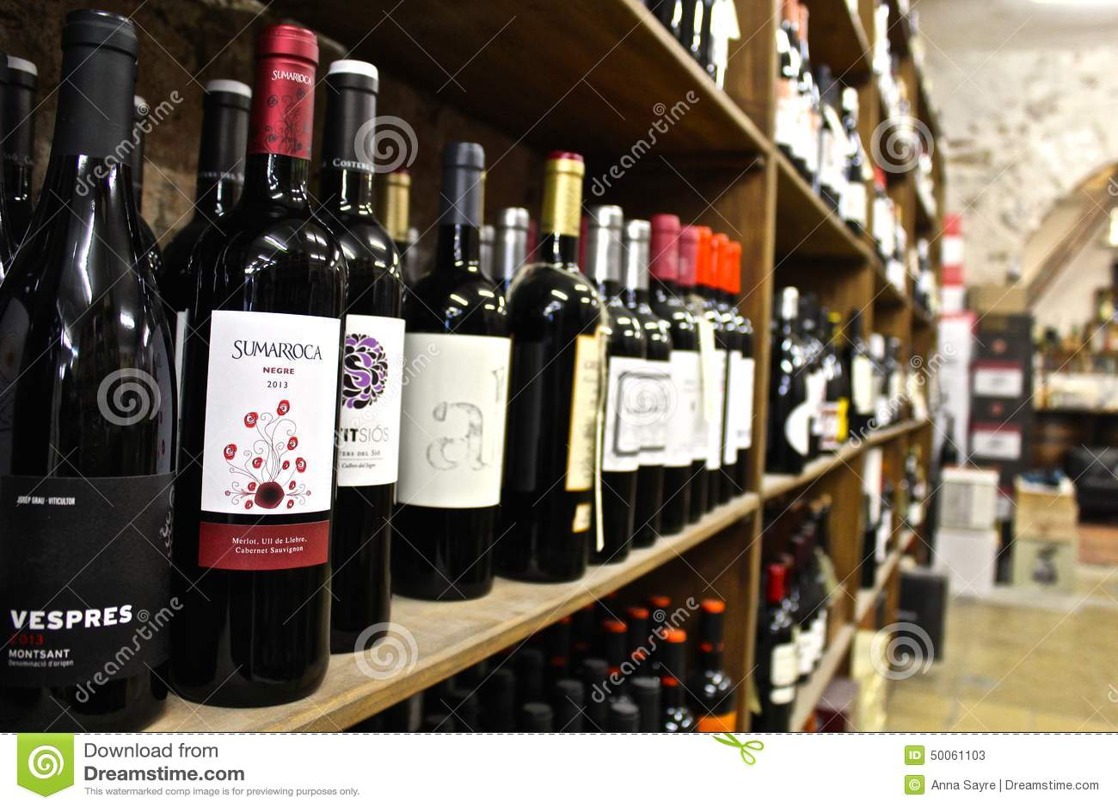Wine Store Editorial Stock Photo Image Of Many Wine 50061103