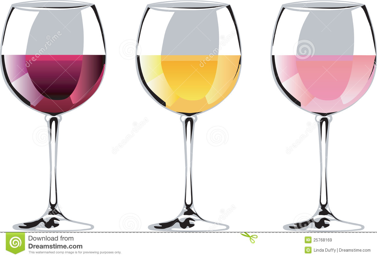 Trio of wine graphics great for advertising your wine sale, tasting or ...