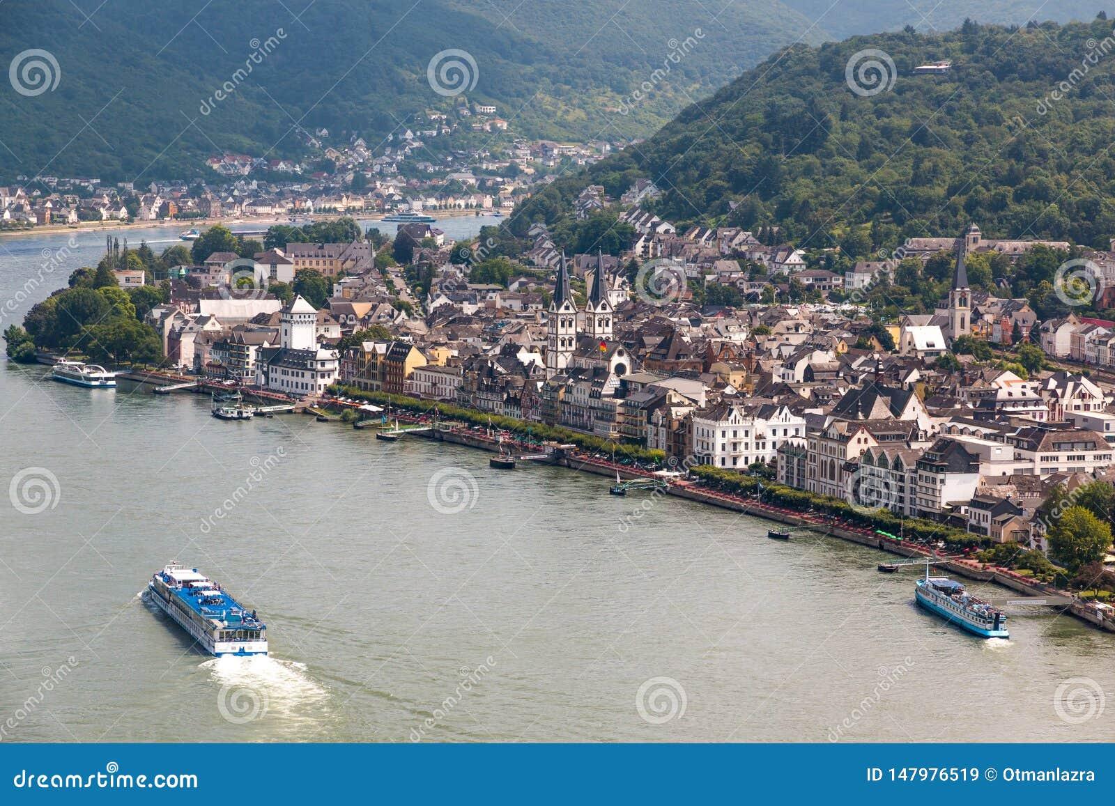 Wine Village of Boppard at Rhine