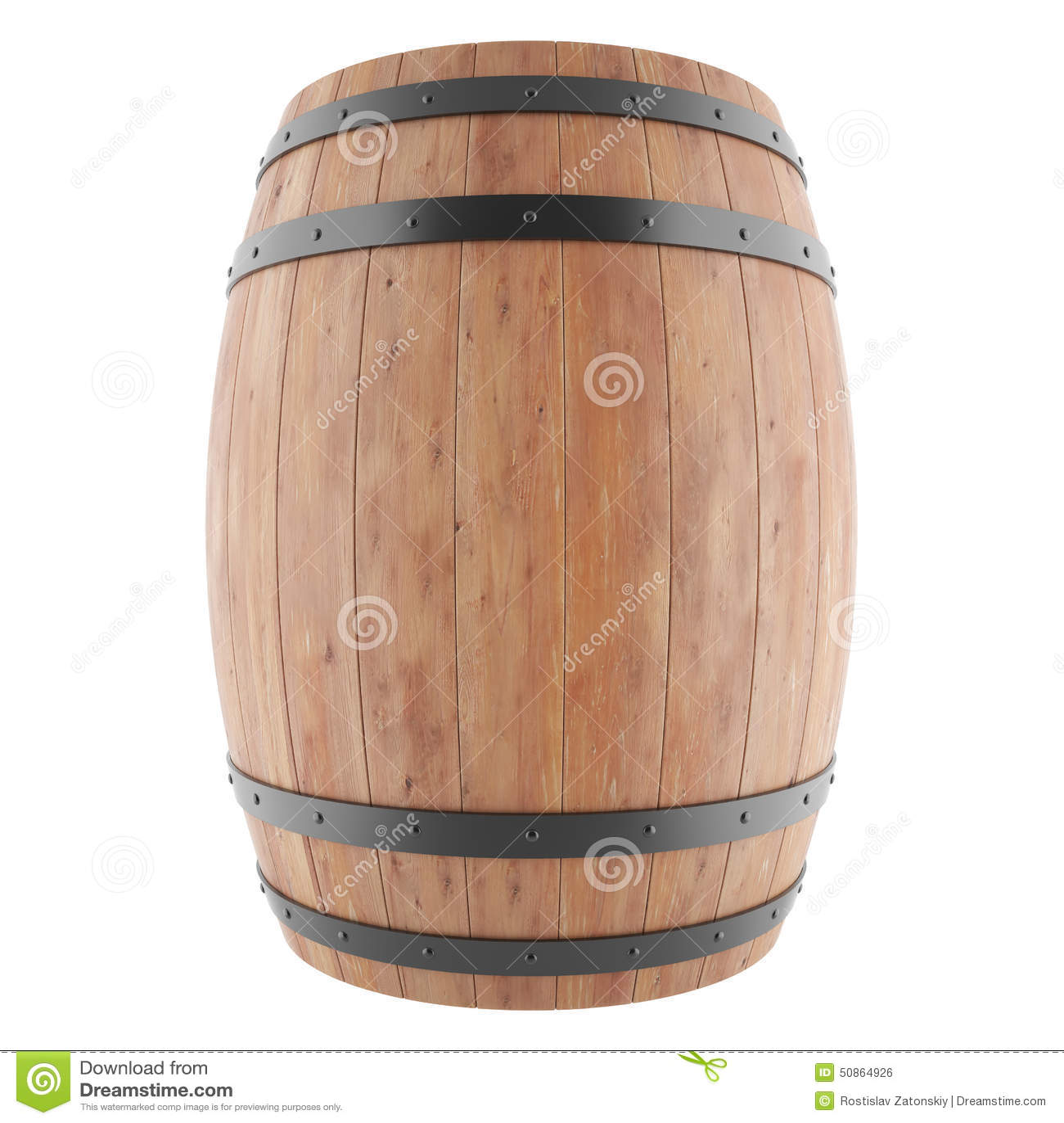 White Whiskey Barrel ~ Wine whiskey rum beer barrel stock illustration image