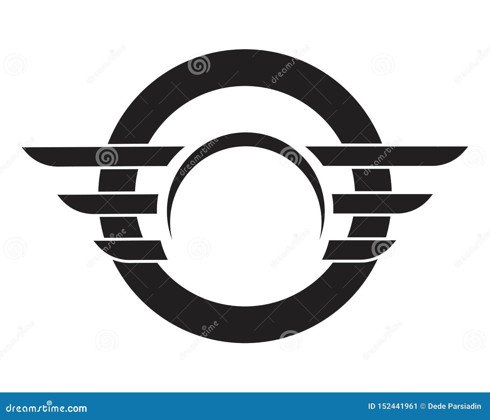 Wing Logo Template - vettore