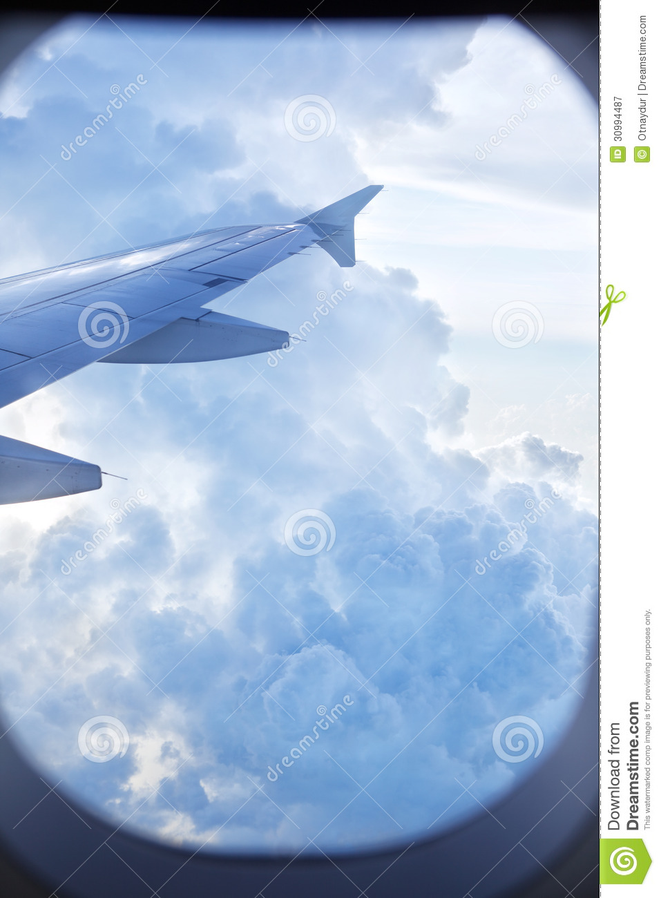 Wing of plane royalty free stock photography image 30994487 Airplane cabin noise