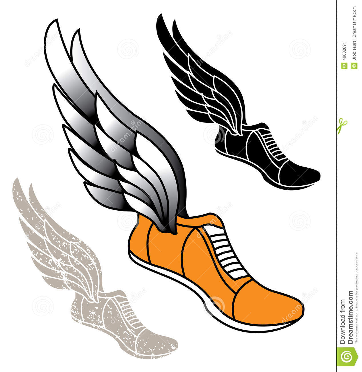 Running Shoe With Wings Pictures