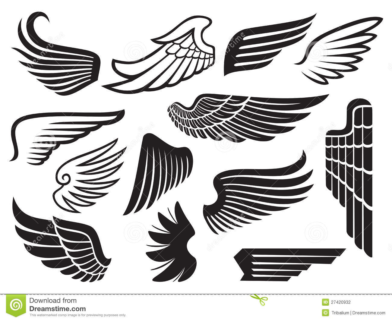 Wings Stock Photography  Image 27420932