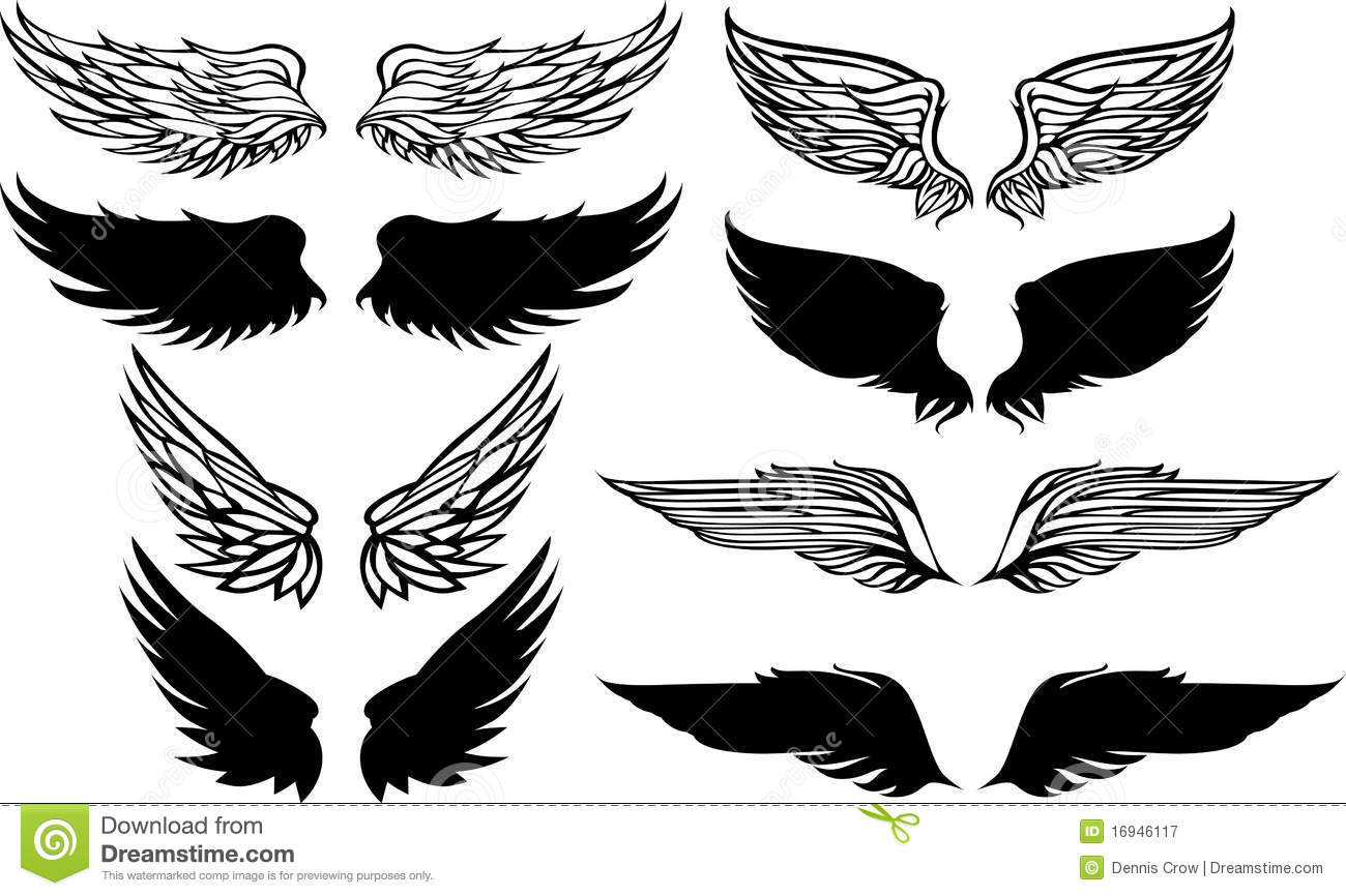 28+ Eagle Wings Vector Free