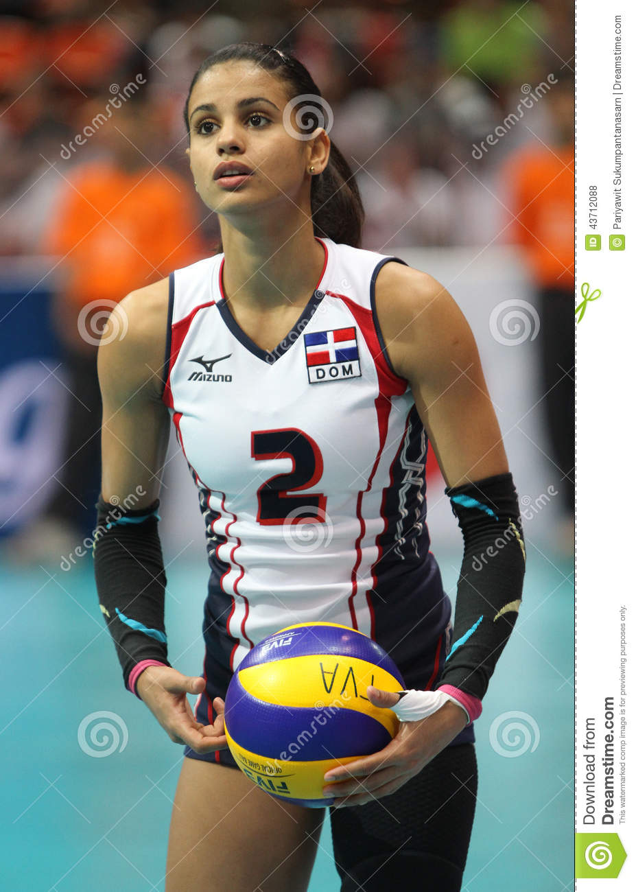Download Winifer Maria Fernandez Perez Of Dominican Republic Editorial Stock Photo - Image of court, news: 43712088