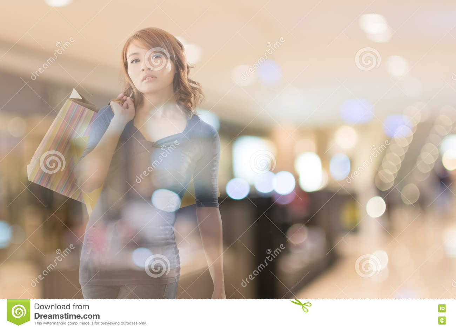 Winkelende Vrouw