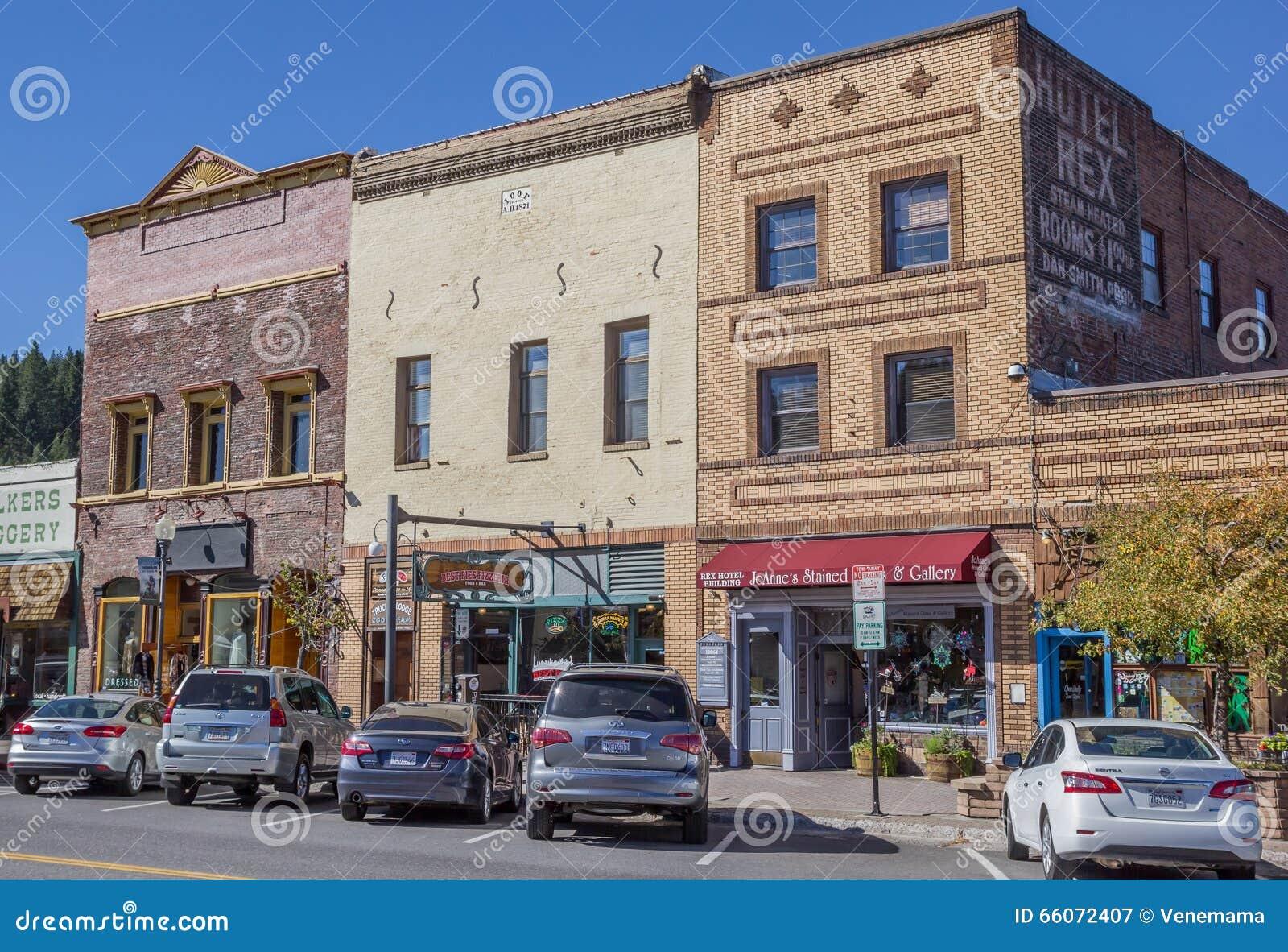 Winkels bij hoofdstraat Truckee