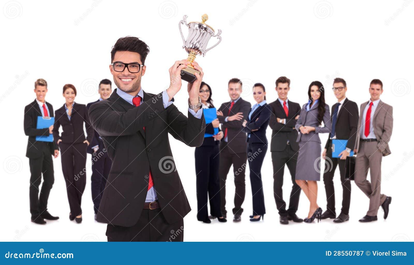 Winnend commercieel team