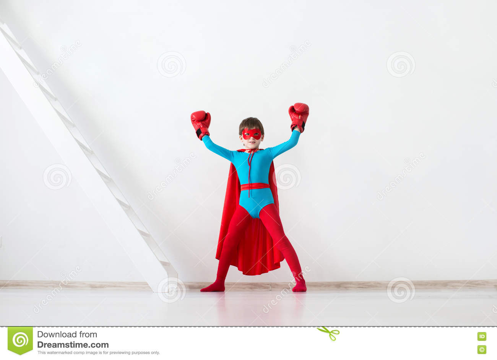 Winner. Kid Super Hero. Stock Photo 71730450 - Megapixl