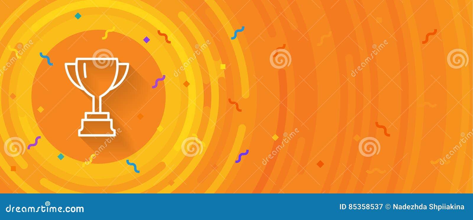 winner sign congratulations win banner stock vector illustration