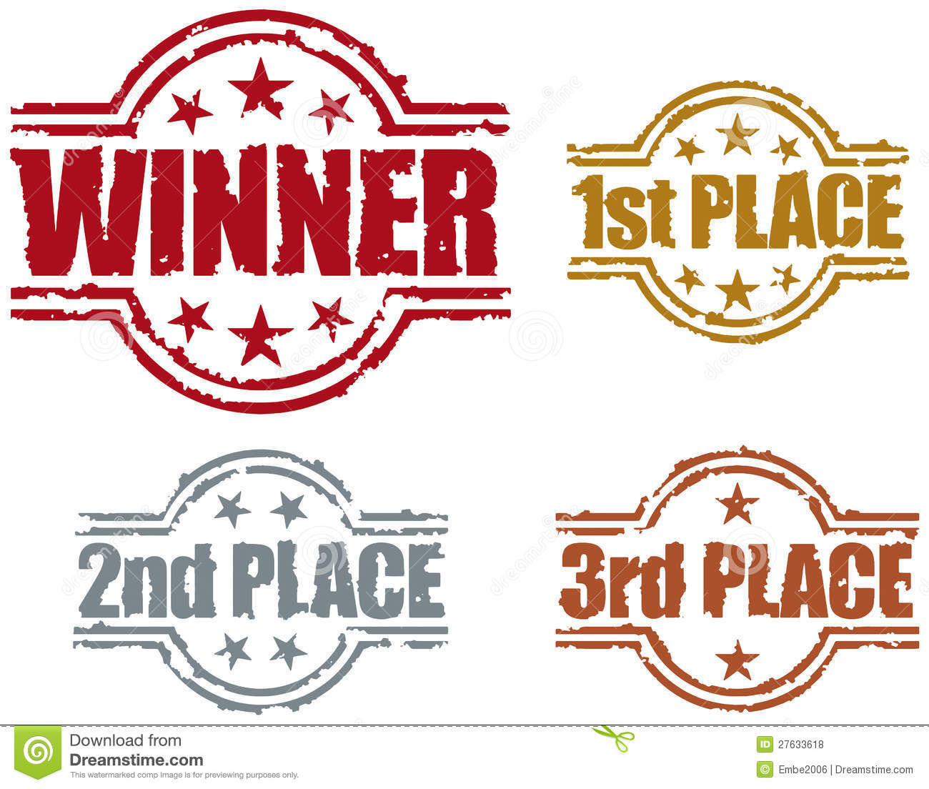 Winner Stamp Royalty Free Stock Photos - Image: 27633618