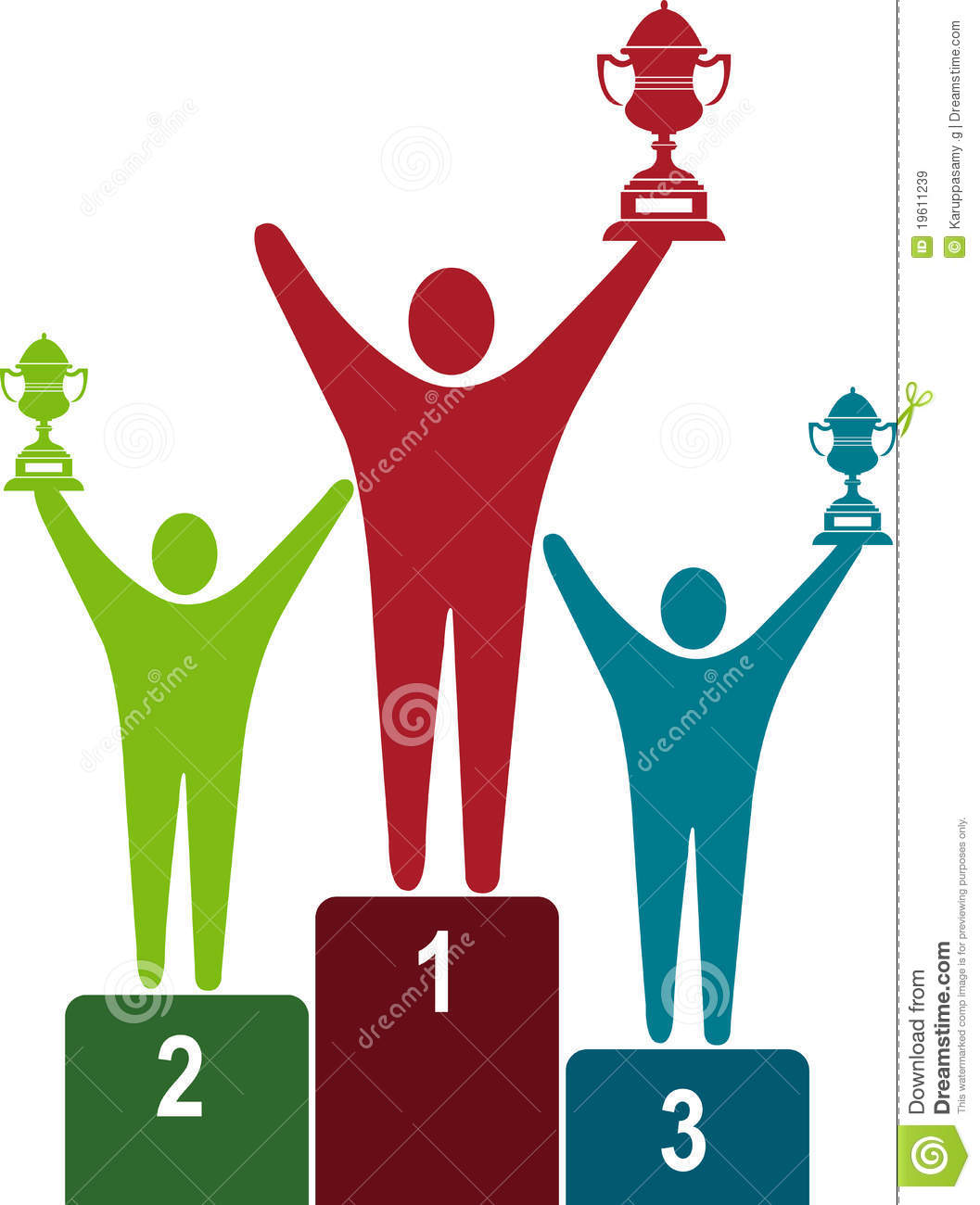 Winners Logo Royalty Free Stock Images