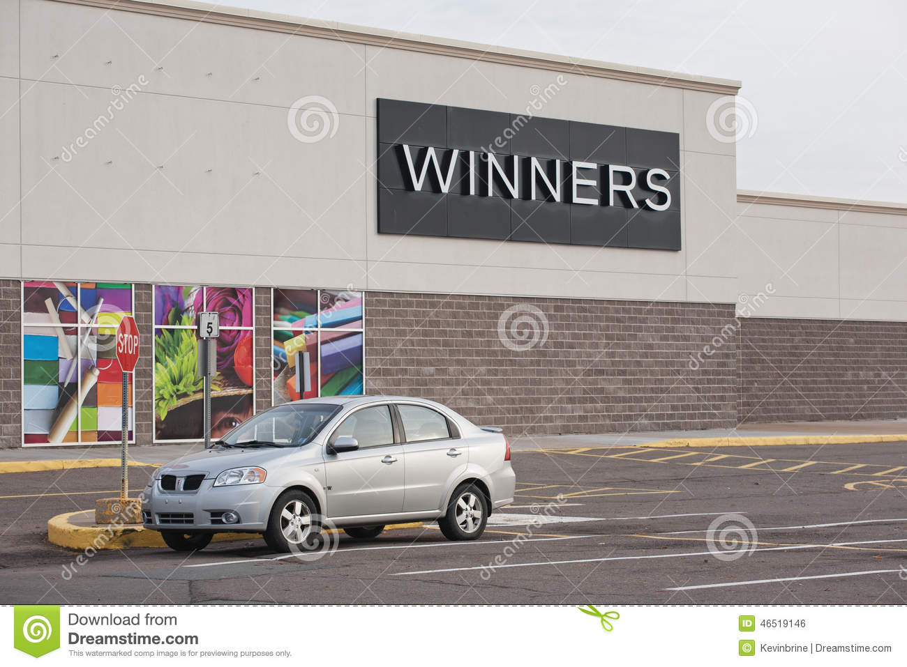 Winners clothing store