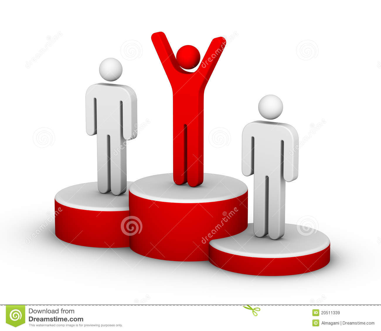 Winners Podium Royalty Free Stock Images - Image: 20511339