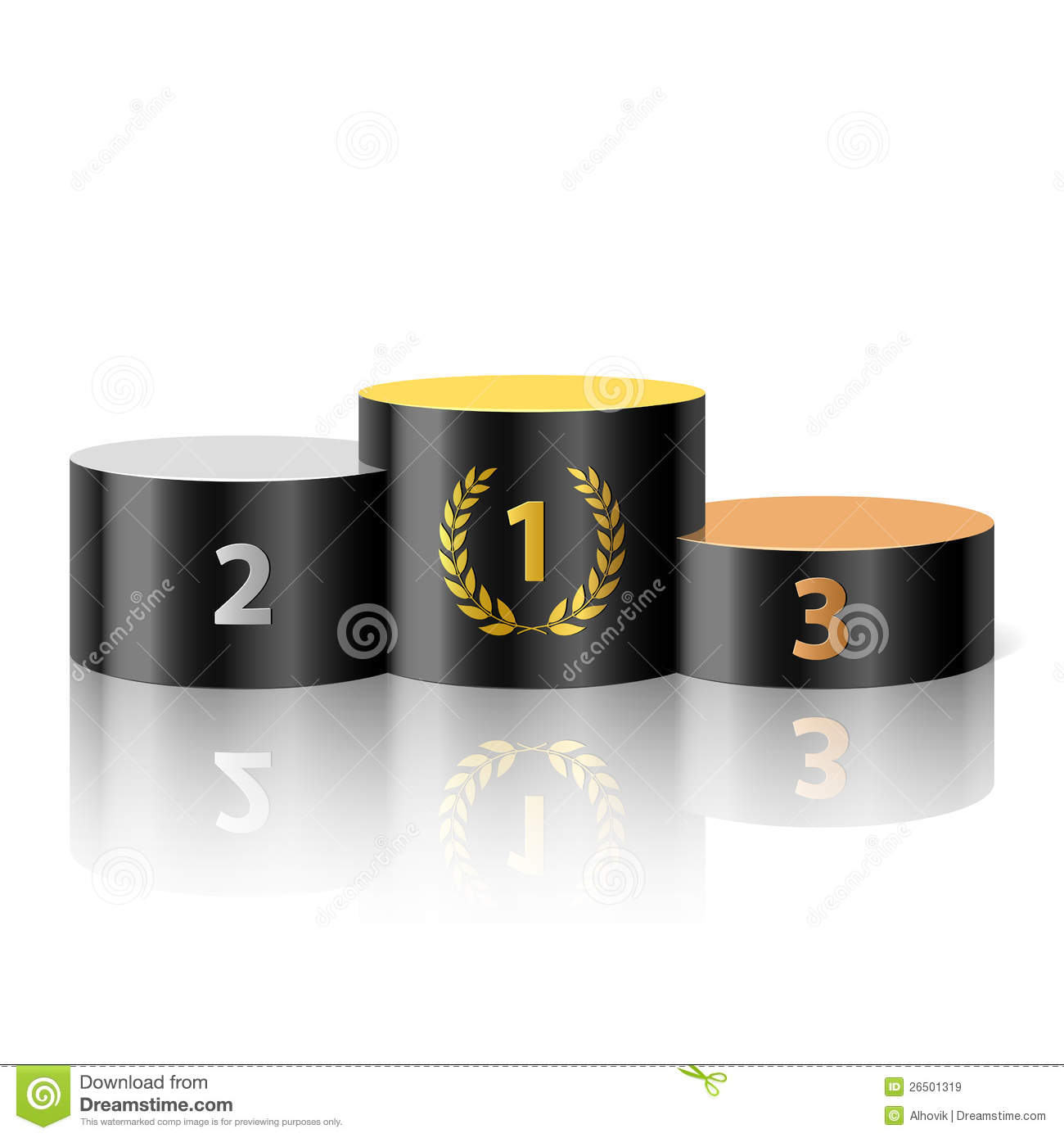 Winners Podium Royalty Free Stock Images - Image: 26501319