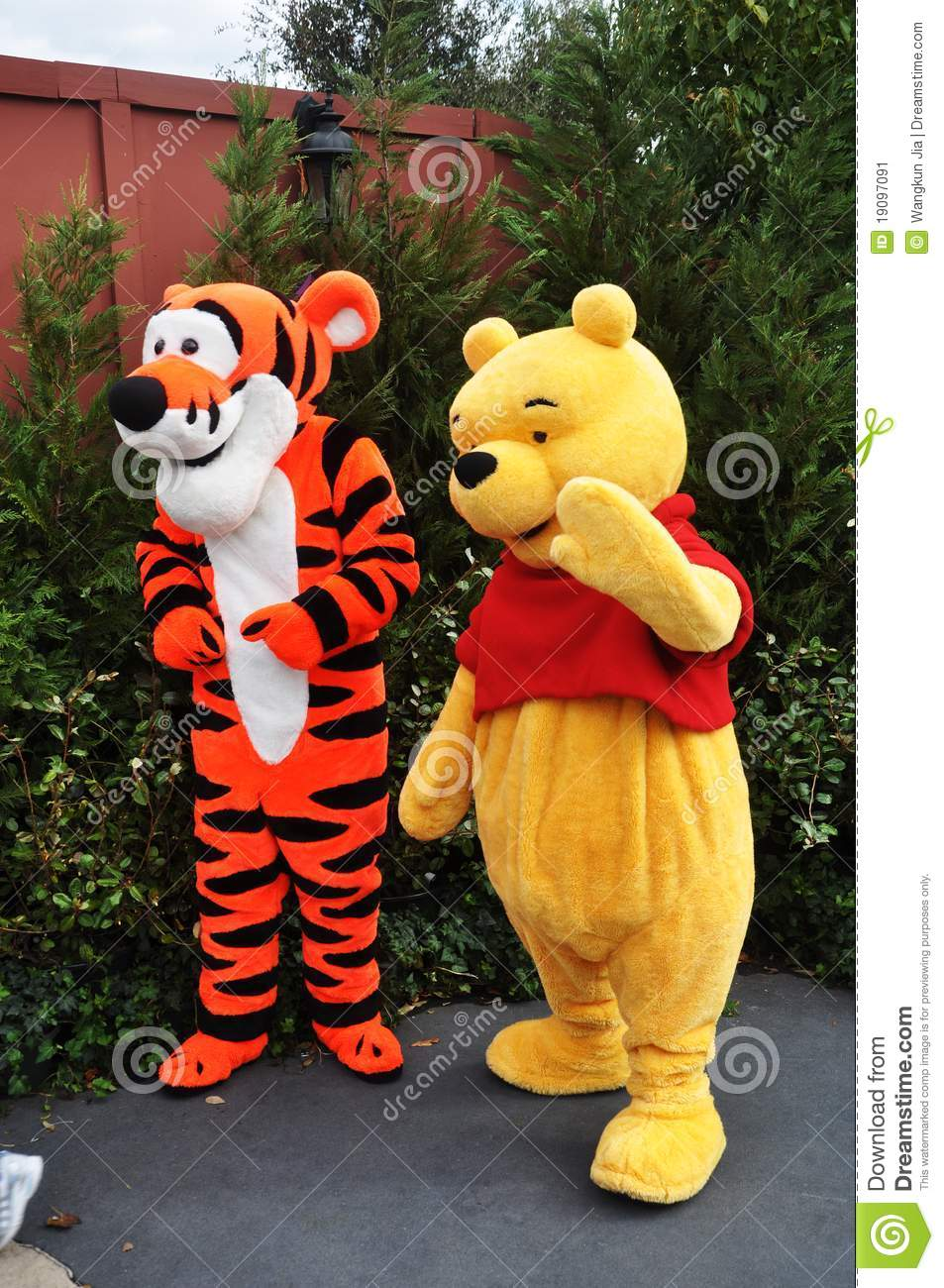 3d9c47149e34 Winnie-the-Pooh And Tigger In Disney World Editorial Photo - Image ...
