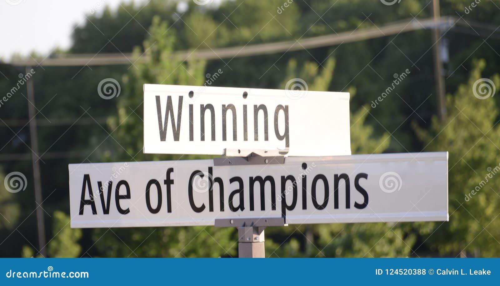 Winning Avenue of Champions