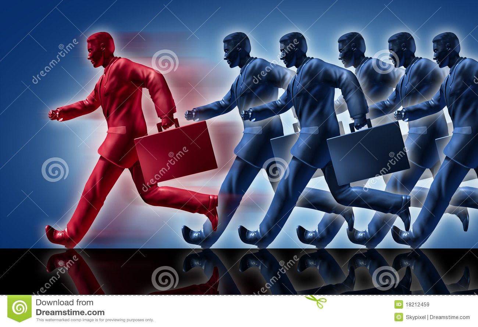 Winning success competition leader leadership