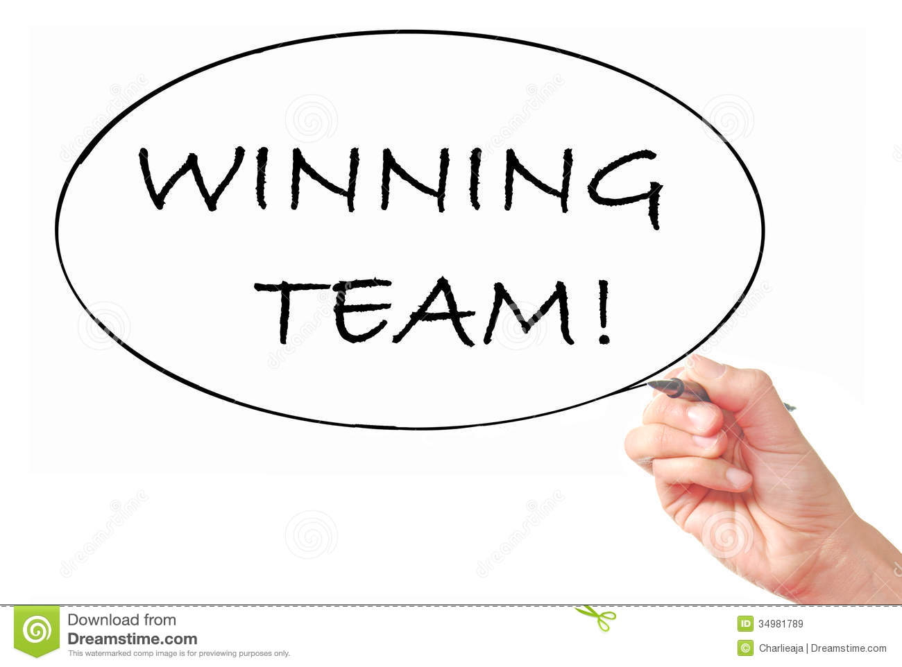 Winning Team Royalty Free Stock Images Image 34981789