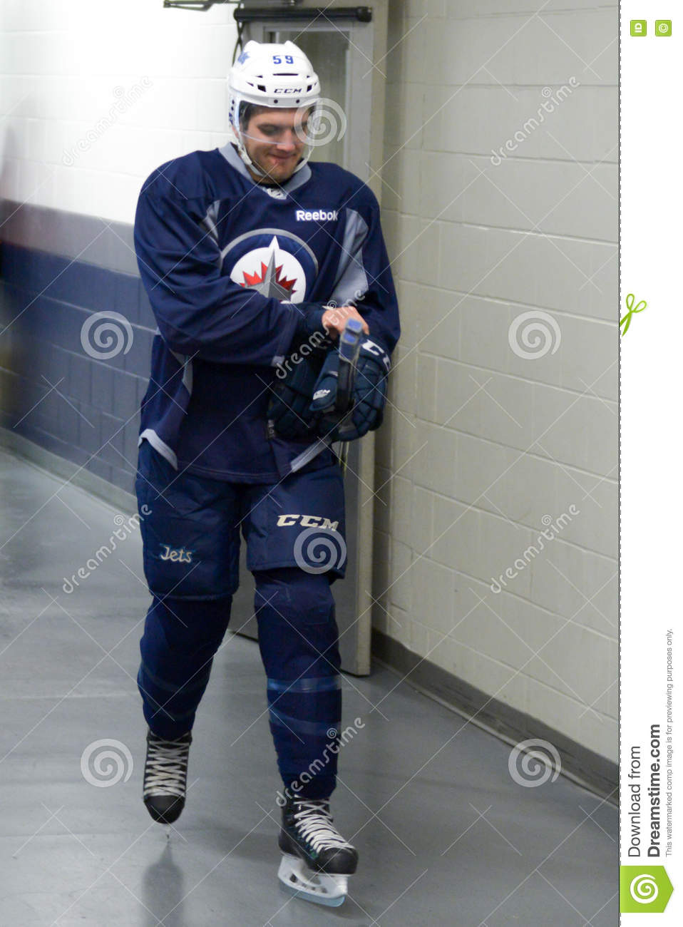 Winnipeg Jets Editorial Image Image Of Indoors Competition 75946755