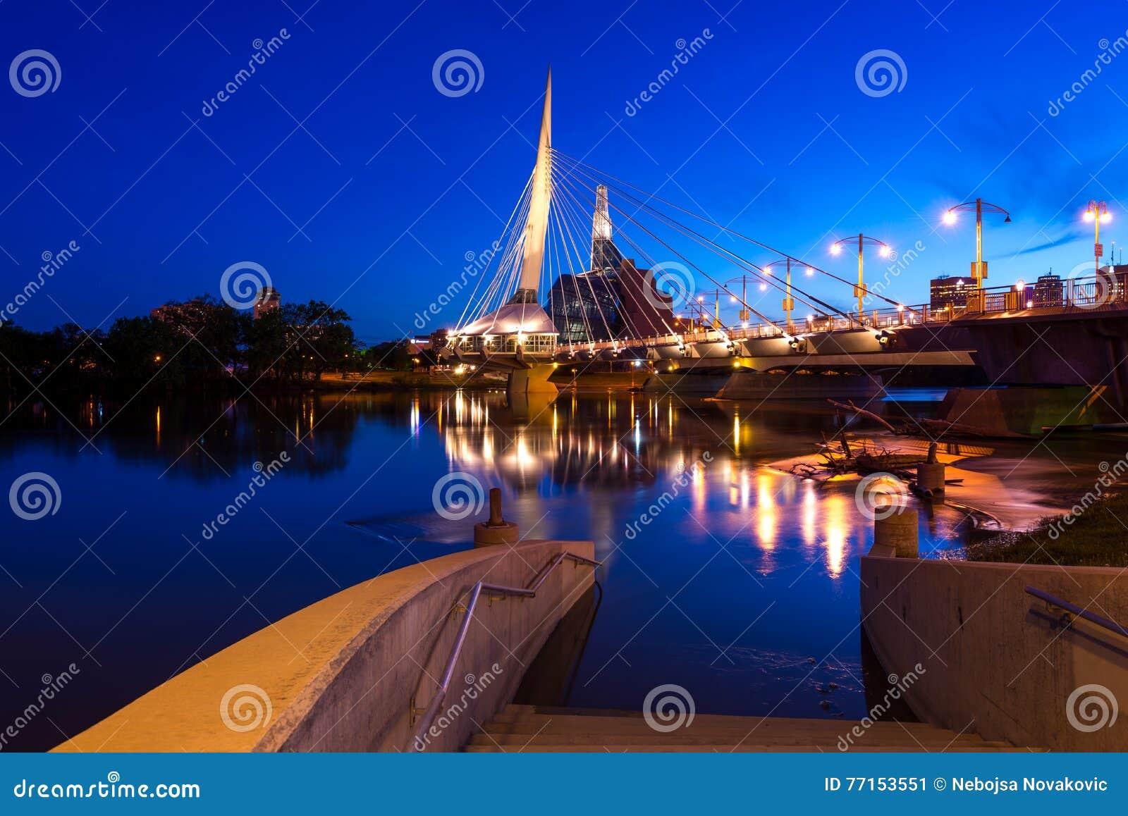 Winnipeg la nuit