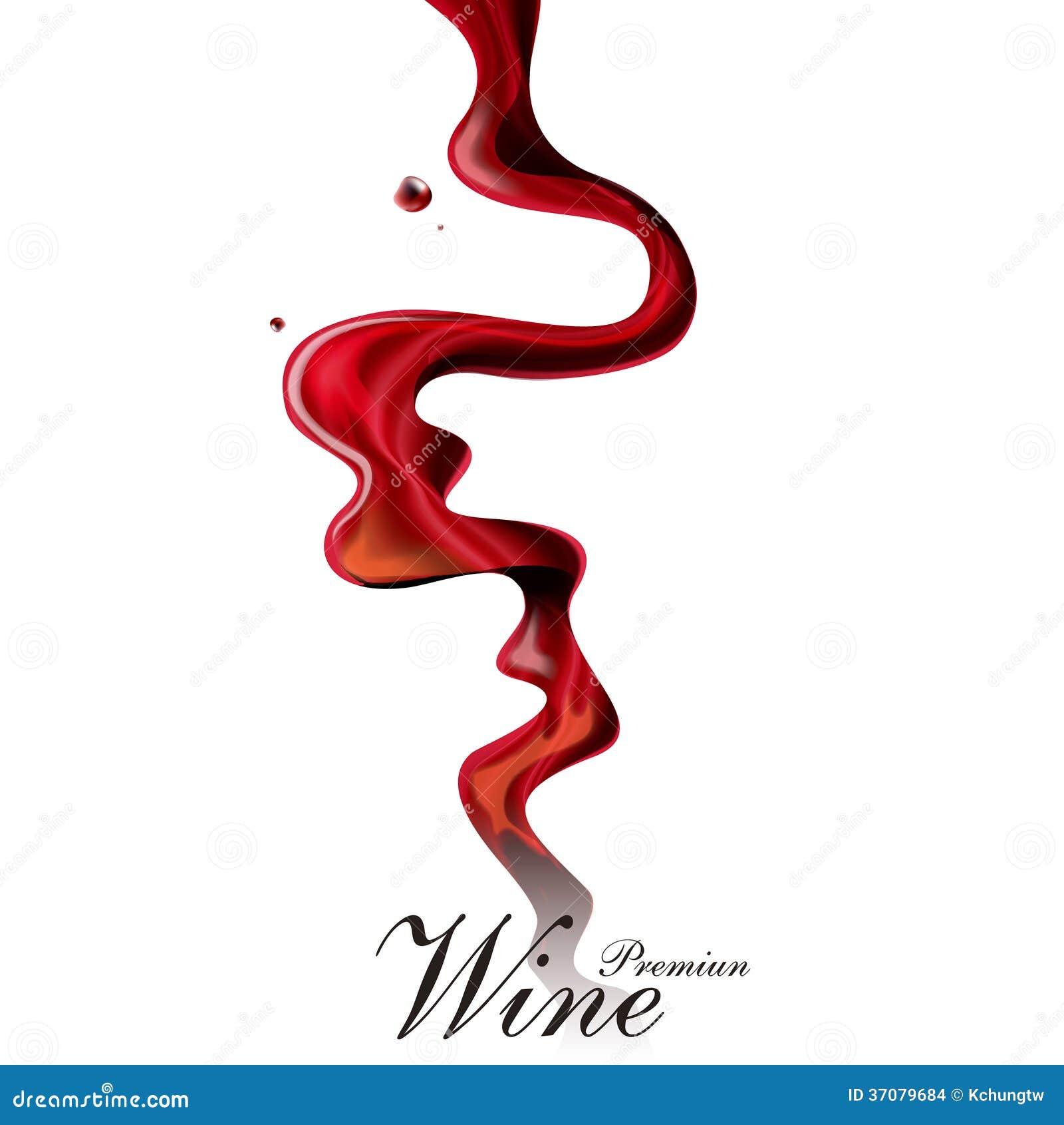 Download Wino listy projekt ilustracja wektor. Ilustracja złożonej z pojęcie - 37079684
