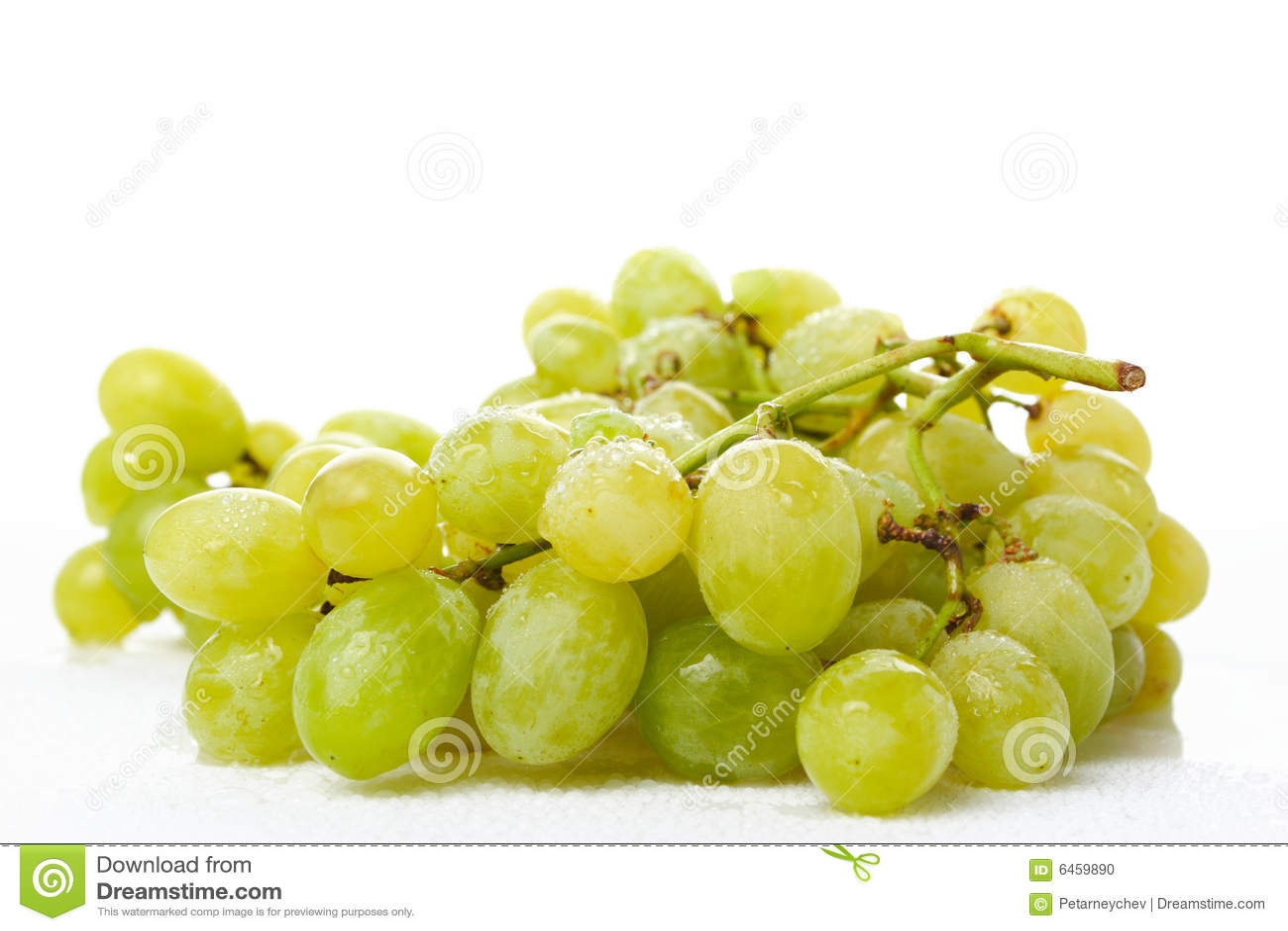 Winogrona mokre białe