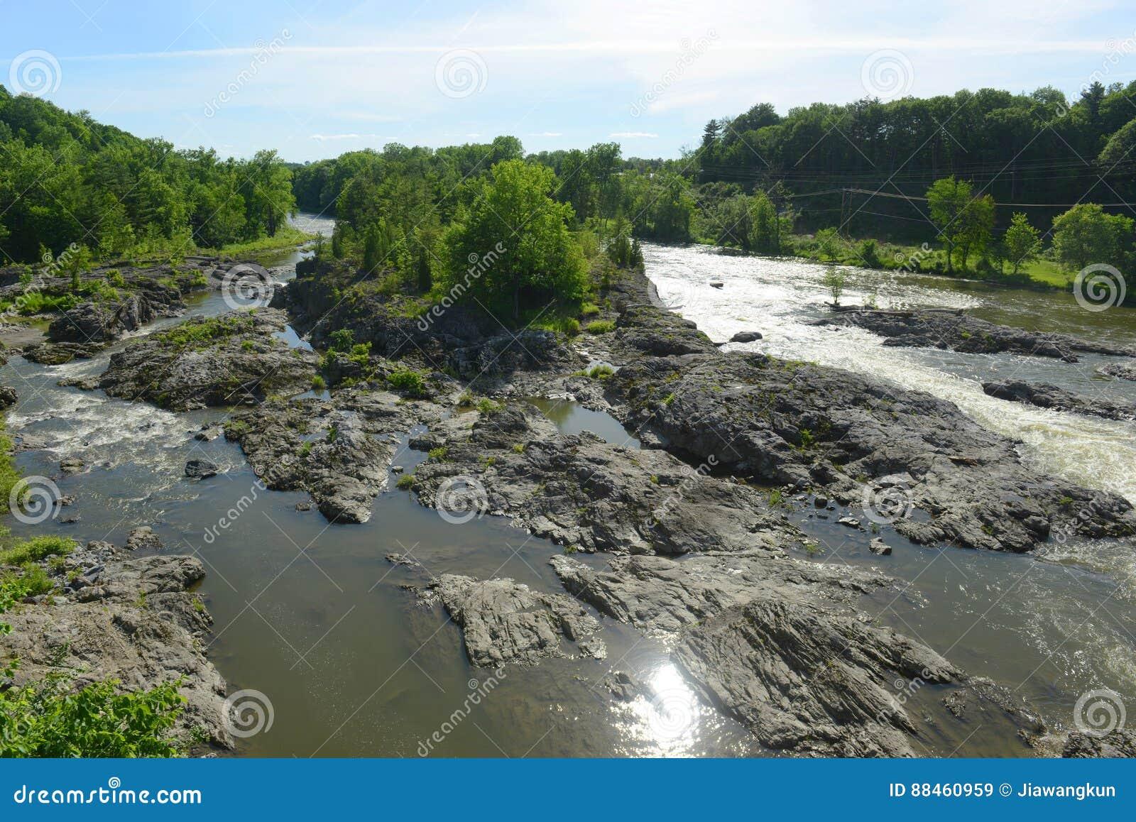 Winooski河,艾塞克斯连接点,佛蒙特