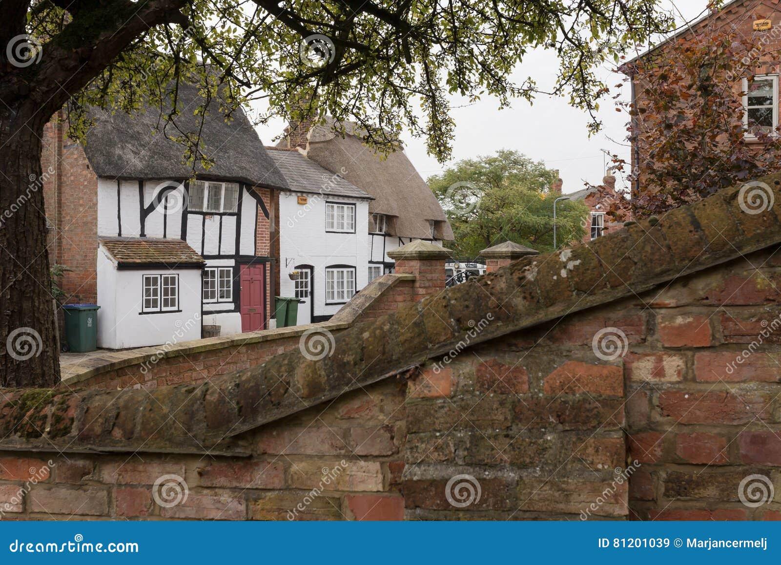 Winslow, Buckinghamshire, Vereinigtes Königreich, am 25. Oktober 2016: Ansicht