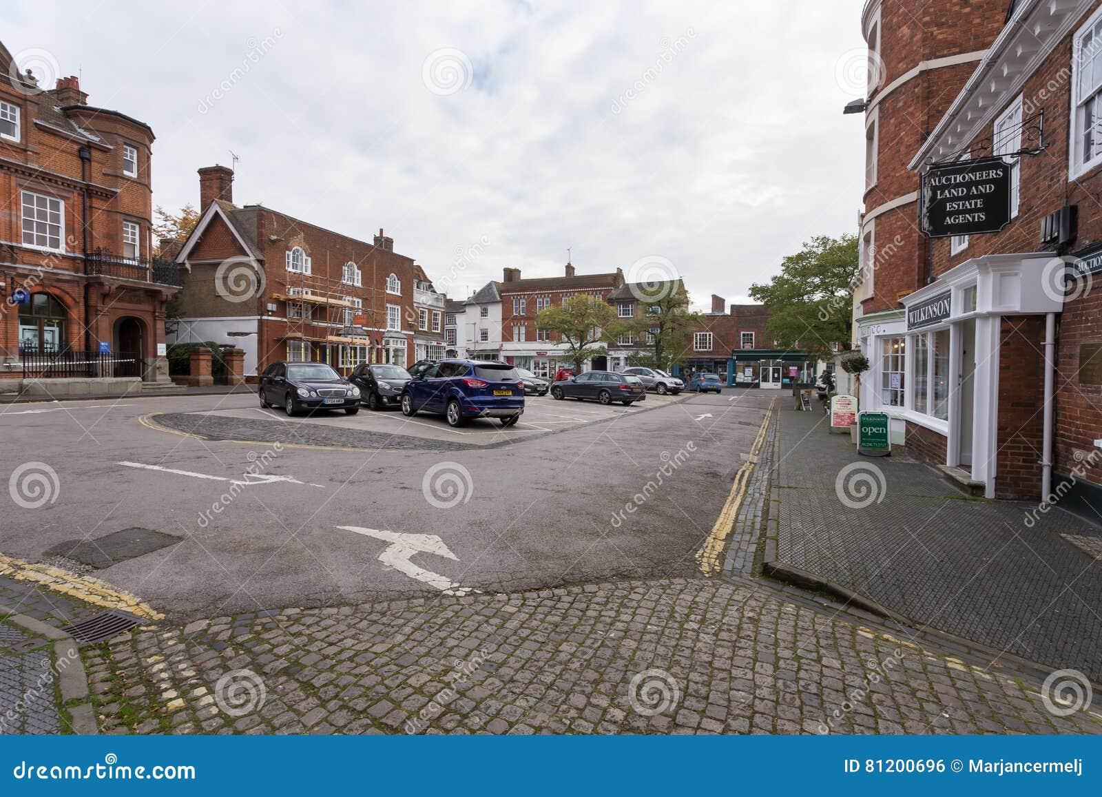 Winslow, Buckinghamshire, Zjednoczone Królestwo, Październik 25, 2016: Mark