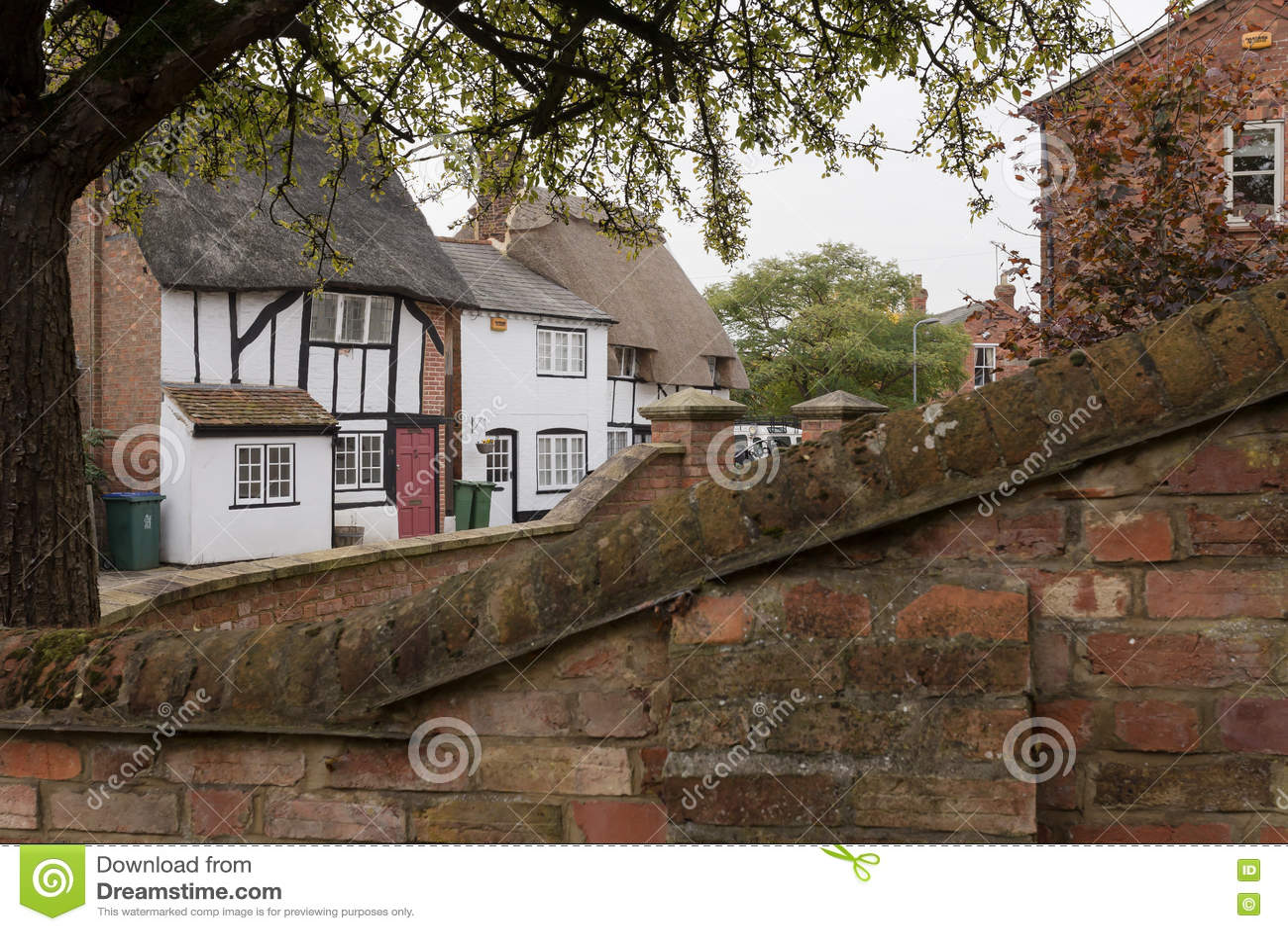 Winslow, Buckinghamshire, Zjednoczone Królestwo, Październik 25, 2016: Widok
