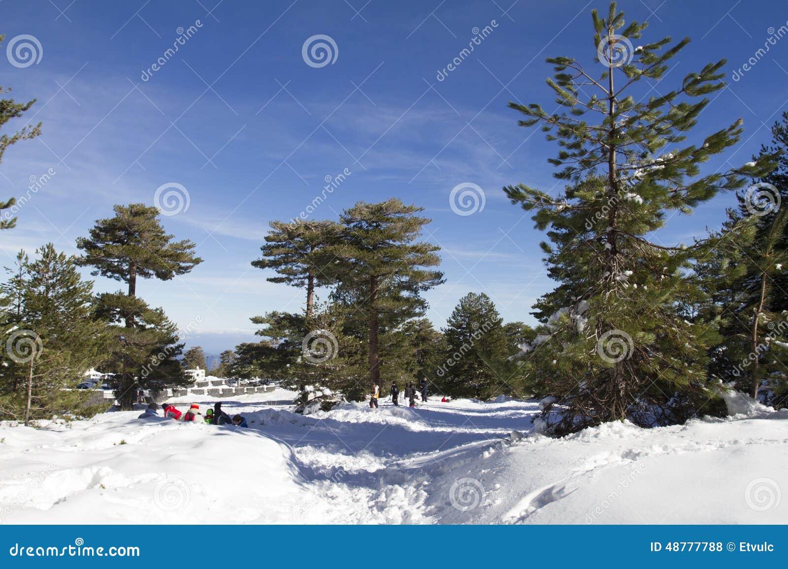 Winter Ätna Nord