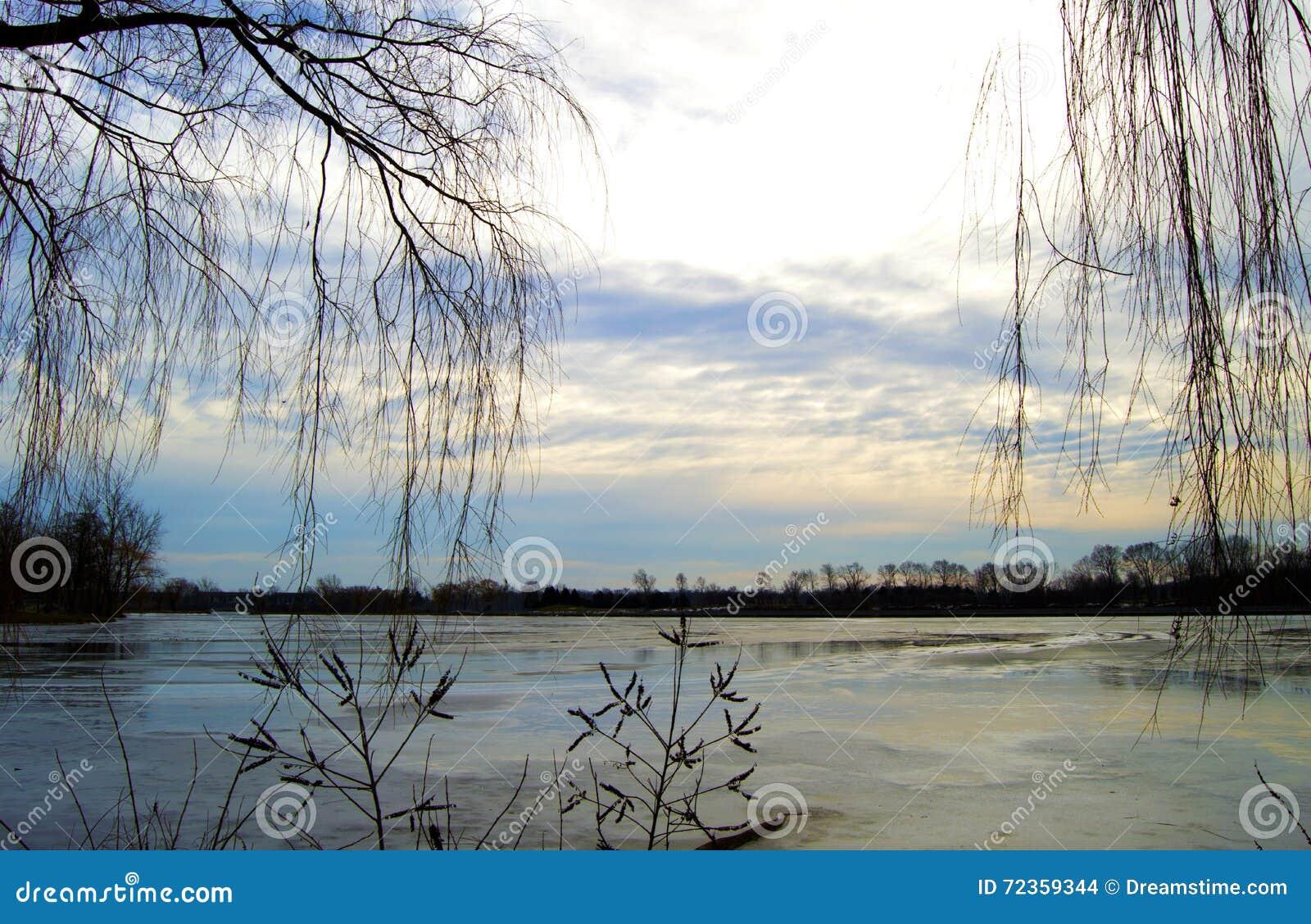 Winter湖